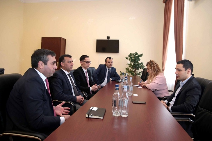 ASUE | Desire to Expand Cooperation: Ruben Hayrapetyan Hosts HSBC