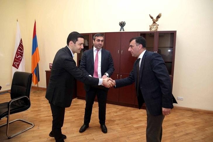 ASUE | Desire to Expand Cooperation: Ruben Hayrapetyan Hosts